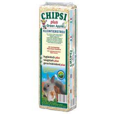 CHIPSI PLUS GREEN APPLE - Podstielka s vôňou Jablko - 15 L