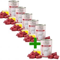 NUEVO Dog Sensitive BEEF 400 g 5+1 GRÁTIS