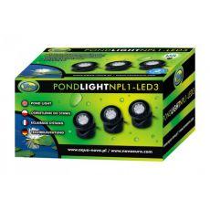 Osvetlenie do jazierka NPL1-3LED 3x1,6W