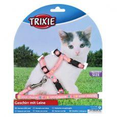 Postroj s vodítkom pre mačiatko Kitty Cat