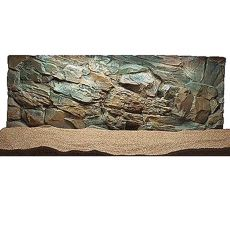 3D Pozadie do akvária 100x60 cm - SKALA