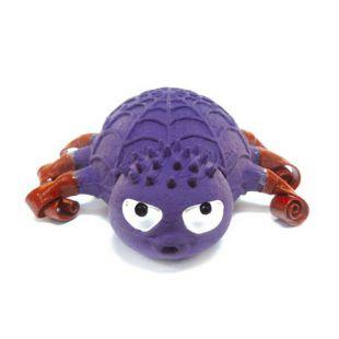 Latexová hračka pre psy - pavúk fialovej farby