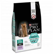 Purina Pro Plan Small & Mini Adult OptiDigest Grain Free Turkey 7 kg - POŠKODENÝ OBAL