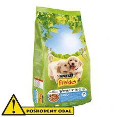 Purina FRISKIES Dog Junior 15kg - POŠKODENÝ OBAL
