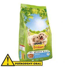 Purina FRISKIES Dog Junior 14,5kg - POŠKODENÝ OBAL