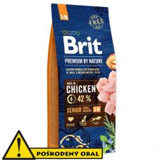 Brit Premium by Nature Senior Small a Medium 15 kg - POŠKODENÝ OBAL
