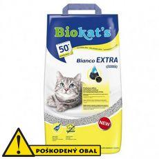 Biokat's Bianco EXTRA classic podstielka 5 kg - POŠKODENÝ OBAL