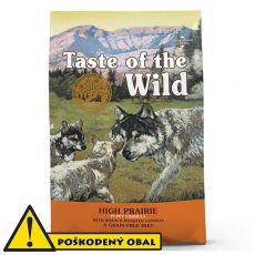TASTE OF THE WILD High Prairie Puppy 12,2 kg - POŠKODENÝ OBAL