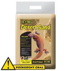 Terarijný piesok - žltý 4,4kg - POŠKODENÝ OBAL