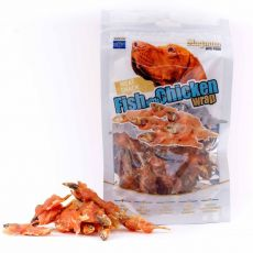 Pamlsky Magnum Fish with Chicken wrap 80 g