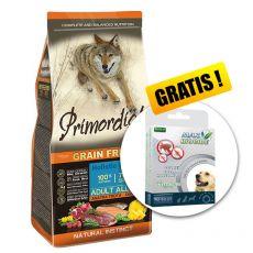 Primordial GF Adult Trout & Duck 12kg + DARČEK