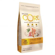 Wellness Core Cat Sterilised Chicken & Turkey 4 kg