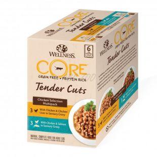 Wellness CORE Tender Cuts Kurací multipack 6 x 85 g