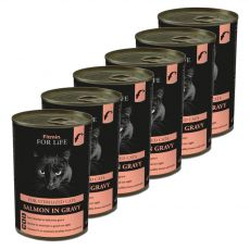 Fitmin Cat For Life Salmon 6 x 415 g