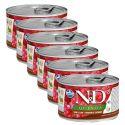 Farmina N&D dog QUINOA venison & coconut 6 x 140 g