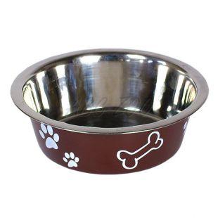 Miska pre psa - hnedá, 1,8 l