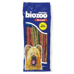 Tyčinky pre psa, hovädzia koža - 7 mm, 10 ks