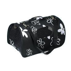 Prepravka pre psy a mačky - čierna, 43,5 x 25 x 25 cm