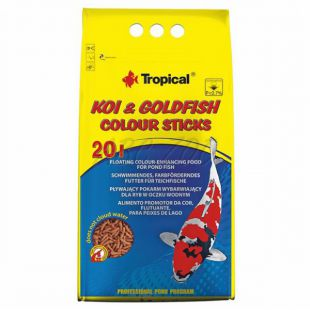 TROPICAL Koi goldfish colour sticks 20L