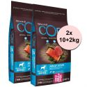 Wellness Core Dog M/L Adult Ocean Salmon & Tuna 2 x (10+2 kg)