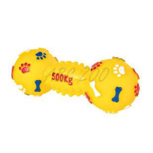 Hračka pre psov - vinylová činka, 19 cm