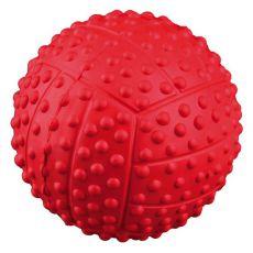 Lopta pre psov - pískajúca z gumy, 5,5 cm