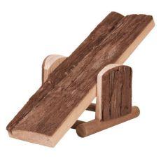 Hojdačka pre hlodavce - drevená, 22 x 7 x 8 cm