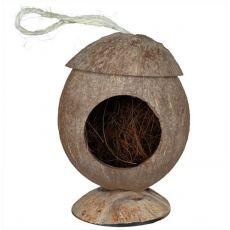 Domček pre hlodavce - kokosový závesný, 12 cm