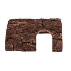 Domček pre hlodavce - drevený poloblúk, 8 x 14 x 20 cm