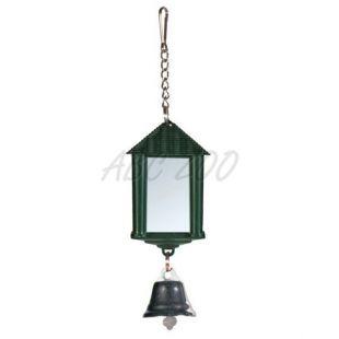Hračka pre vtáky - lampášik so zrkadlom a zvončekom
