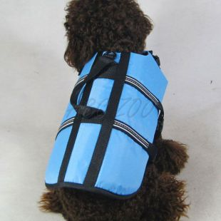 Vesta pre psov - záchranná modrá, XS