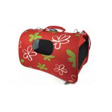 Prepravka pre psy a mačky - červená, 43,5 x 25 x 25 cm