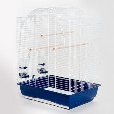 Klietka pre papagáje EMMA biela - 54 x 39 x 71 cm