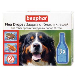 Pipety proti blchám a kliešťom pre psov 20-70kg