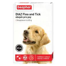 Obojok pre psov proti blchám a kliešťom DIAZ - 65 cm