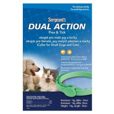 Antiparazitný obojok pre psy a mačky Sergeant´s - 34cm