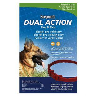 Antiparazitný obojok pre veľké psy Sergeant´s - 65cm