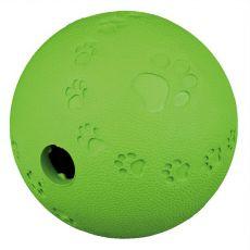Lopta na pamlsky pre psy - prírodná guma, 6 cm