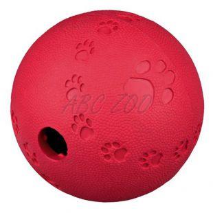 Lopta na pamlsky pre psy - prírodná guma, 11 cm