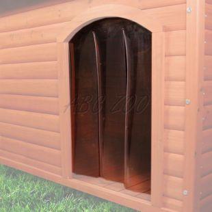 Dvierka na búdku pre psa, plastové - 38x55cm