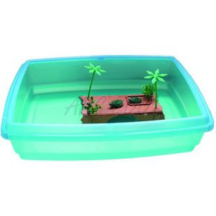 Bazén pre korytnačky - 54x40x14 cm, 22 litrov