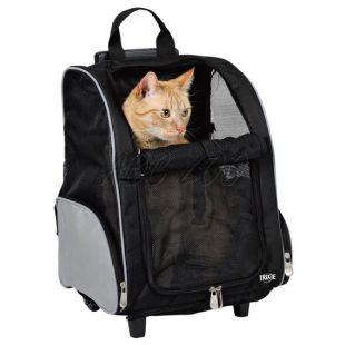 Taška na kolieskach pre psa alebo mačku - 36x27x50cm