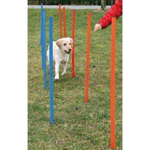 Prekážky pre psov - Agility Slalom 115x3cm