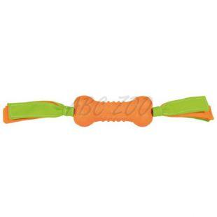 Hračka pre psa, kosť so strapcami - 35cm