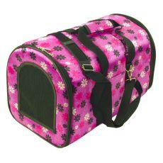Prepravka pre psy a mačky - fialová, 44 x 30 x 30 cm