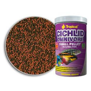 TROPICAL Cichlid Omnivore Pellet - Small 1000ml/360g