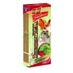 Vitapol tyčinky pre hlodavce - zeleninové, 2 ks