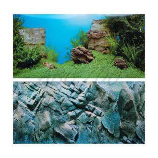 Pozadie do akvária AMANO/ROCK XL - 150x60cm