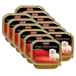 ANIMONDA Senior paštéta - hovädzie mäso a kura, 12 x 150g