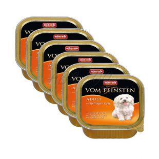 ANIMONDA paštéta - hydina a teľacie mäso, 6 x 150 g
